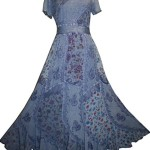 DR 592 Agan Traders Renaissance Vintage Mega Sleeve Long Dress