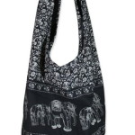 Hippie Elephant Crossbody Shoulder Bag