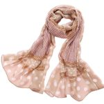 Elegant Luxury Fashion 100% Silk Scarf Classic Premium Vintage Shawl Wrap Art Valentine Day Gift Mothers Day Gift, Oblong
