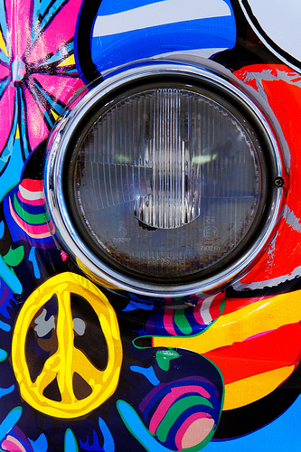 hippie van life