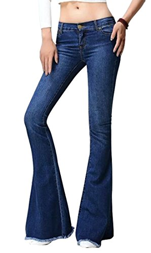 Bell Bottom Wide Flared Jeans