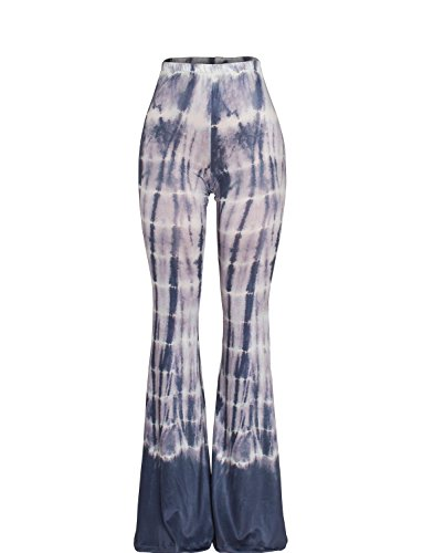 52f49f6adf3 Sedrinuo Women s Bohemian Printed Bell Bottom Pants for Yoga Casual Wear.  Hippie Clothes Shop ...